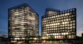 Neue Büros beim Hauptbahnhof Wien