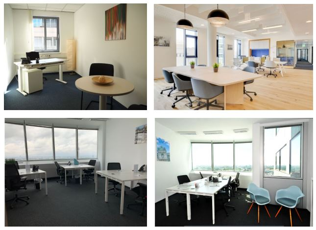 Büroraum Coworking Space mieten Wien